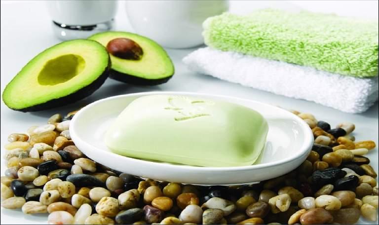 Мыло с авокадо для лица и тела