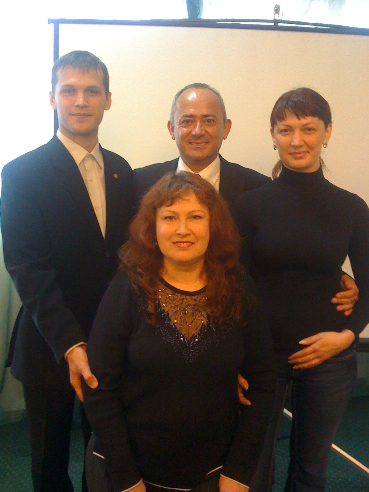 фотография с Аттилой Гидофалви